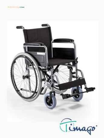 Wóżek inwalidzkistalowy H011 BASIC (bez szybko złączki)