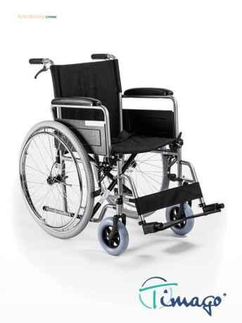 Wózek inwalidzki stalowy Timago H011 (z szybkozłączką)