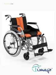 Wózek inwalidzki aluminiowy z hamulcem pomocniczym Timago TGR-R WA C2600 (z szybkozłączką)