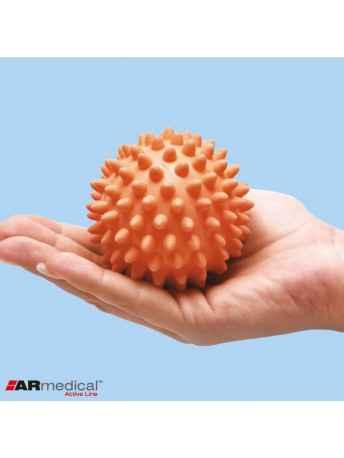 Piłka rehabilitacyjna do ręki z kolcami do ćwiczeń - MB - ARmedical