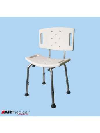 Krzesło prysznicowe z oparciem AR-203 - ARmedical