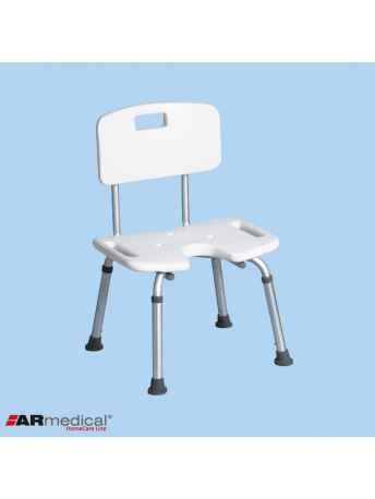 Krzesło prysznicowe z wycięciem U AR-208 - ARmedical