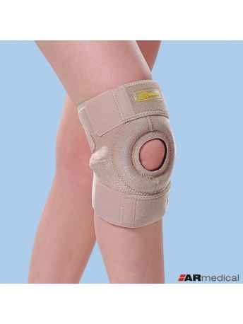 Neoprenowy stabilizator stawu kolanowego zapinany krótki SP-6630 - ARmedical
