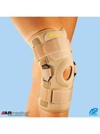 Orteza na kolano z dwuosiowymi szynami bocznymi SP-A-823 - ARmedical