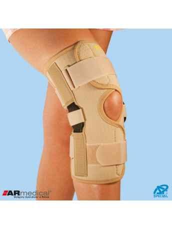 Orteza na kolano z dwuosiowymi szynami bocznymi SP-A-824 - ARmedical