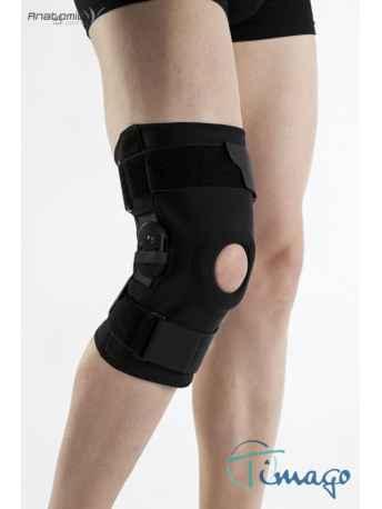 Stabilizator na kolano - Stabilizator stawu kolanowego z szynami zamknięty
