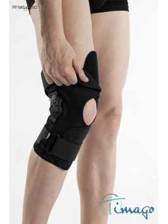 Stabilizator na kolano - Stabilizator stawu kolanowego z szynami otwarty TGO-C SK-O 504