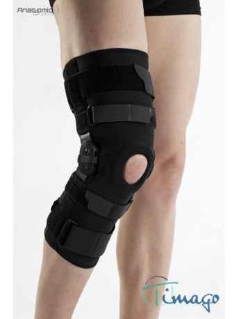 Stabilizator na kolano - Długi stabilizator stawu kolanowego z szynami zamknięty TGO-C SK-ZD 506