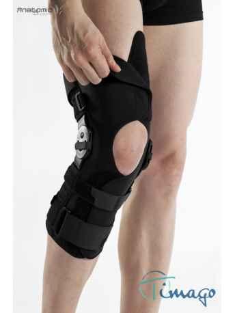 Stabilizator na kolano - Długi stabilizator stawu kolanowego z szynami otwarty TGO-C SK-OD 508
